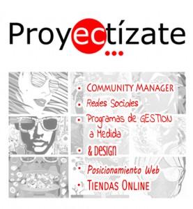 Presentacion proyectizate community manager tiendas online social media programacion posicionamiento web diseño alcoy alicante ibi elche valencia