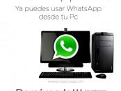 Descarga Whatsapp web para tu posicionamiento web alcoy alicante murcia