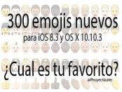 300 emojis nuevos IOS Apple proyectizate posicionamiento web alcoy alicante murcia valencia