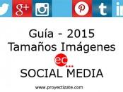 Guía tamaños imágenes redes sociales proyectizate posicionamiento web alcoy alicante murcia valencia