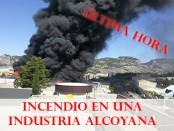 Incendio en Industrias segui foto cope posicionamiento web alcoy alicante murcia valencia