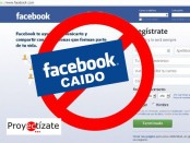 facebook e instagram caido